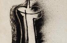 Mujer de espaldas, 1950